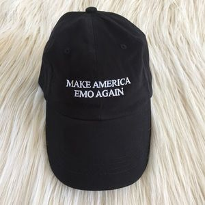 Brand new make America Emo Again Embroidered hat